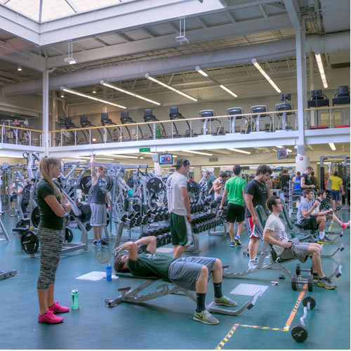 Intramural West Fitness Center