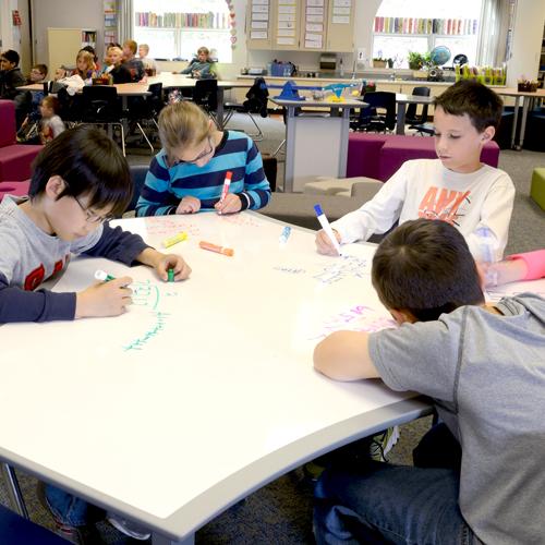 Novi Woods Elementary Classroom Remodeling