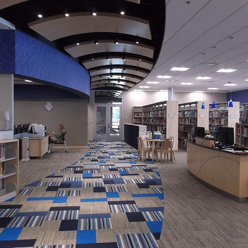 Library architecture design tmp architecture midwest for Architecture firms in michigan